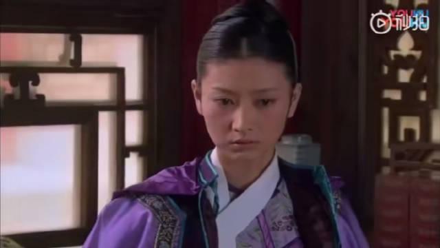 孙俪 斓曦《甄嬛传》眉庄身体好了之后,温太医提醒她时役来的奇怪