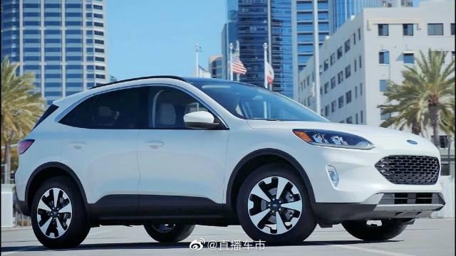 2020年,福特Escape混合动力车和插电式混合动力车