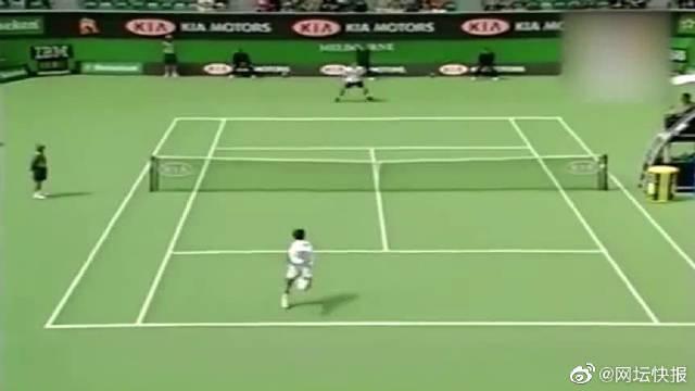 张德培对战费德勒,澳大利亚网球公开赛