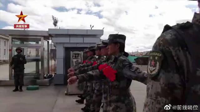 """""""98后""""女兵来到""""生命禁区""""——西藏阿里"""