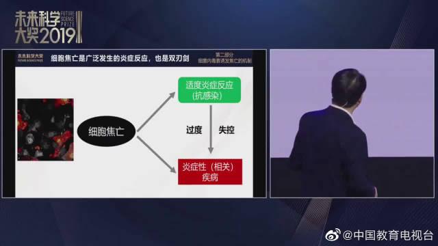 生命科学奖获奖者邵峰教授主题报告及青少年对话