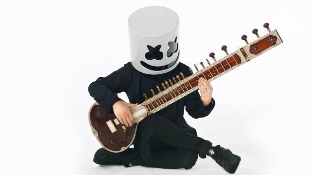 棉花糖Marshmello教你如何弹奏印度西塔琴,赶快学起来 -