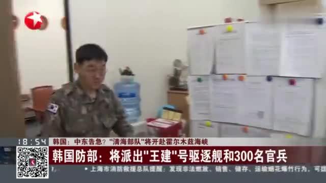 把警告当成耳边风?韩国决定向霍尔木兹海峡派兵,美方表示欢迎