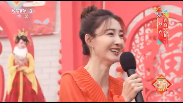 王丽坤亮相央视《东西南北贺新春贺新春》西安分会场