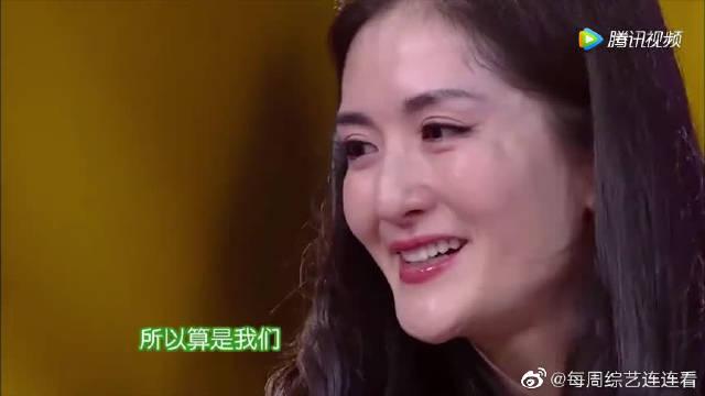谢娜第一次离开何老师主持,何炅现身感动飙泪
