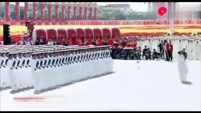 十年前海军受阅部队雄姿,震撼国人!@67号喜羊羊