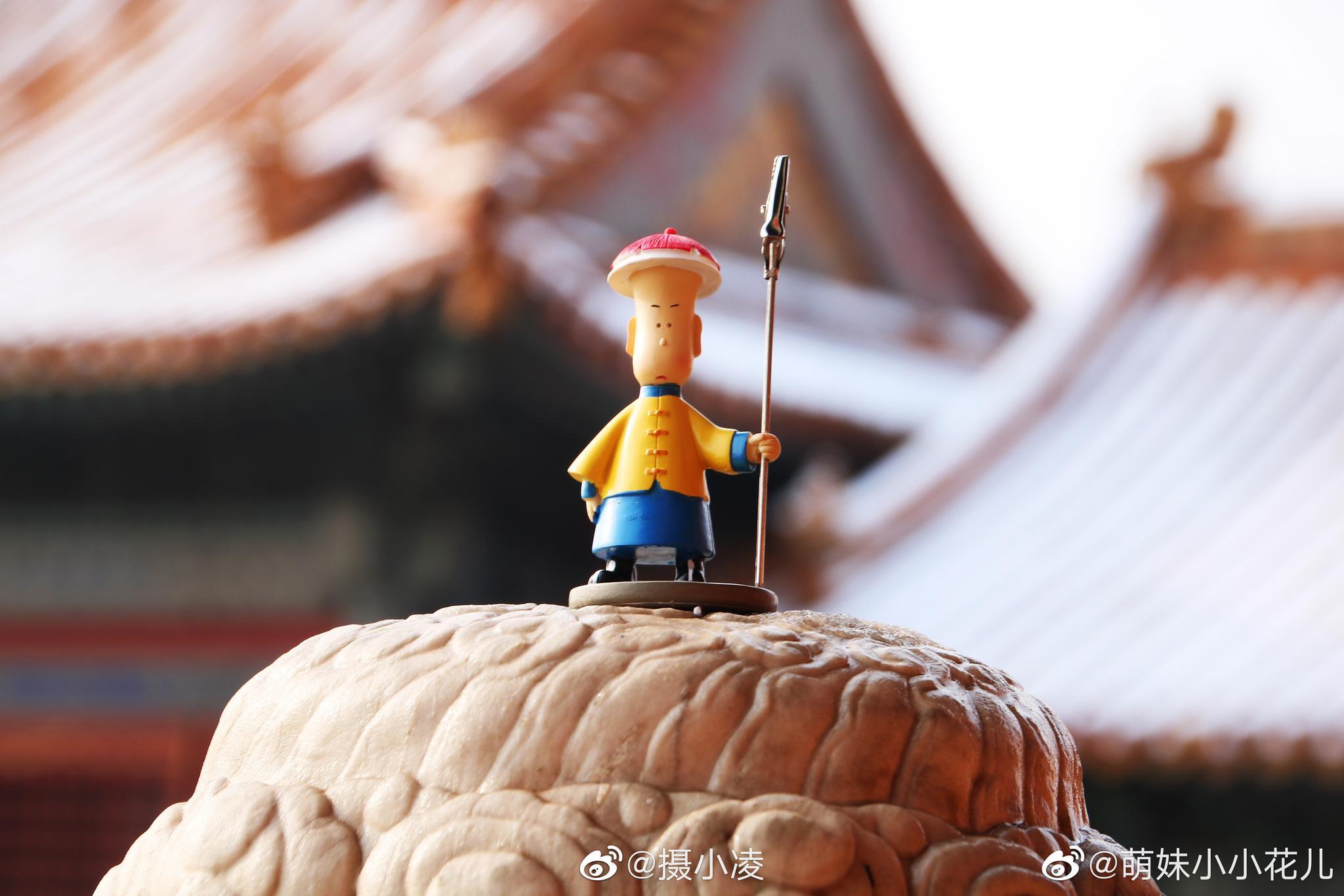 紫禁城看雪 真美 I 摄影人:@萌妹小小花儿
