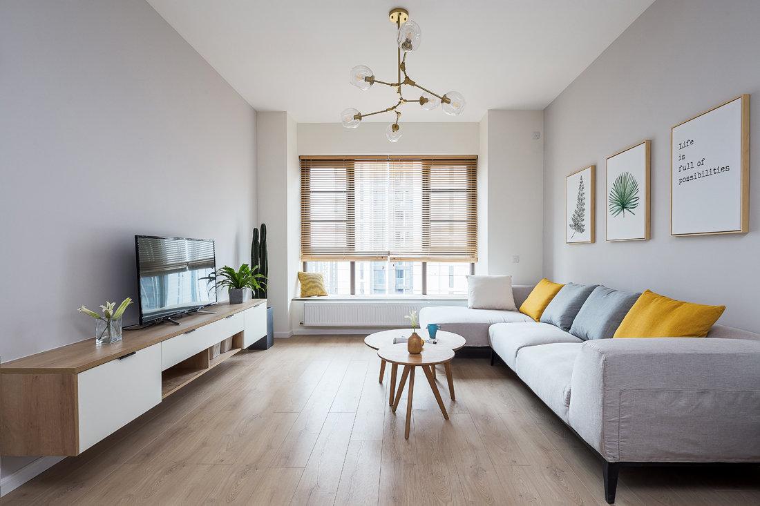 温馨简约家居装修,色调超级喜欢,淡淡的原木风很清新