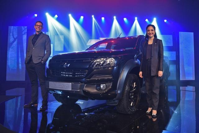 雪佛兰库罗德午夜版泰国车展 2019年前订单限量100台