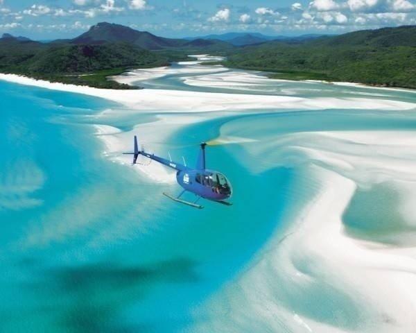 澳大利亚降灵岛,精灵王国才有的蓝。