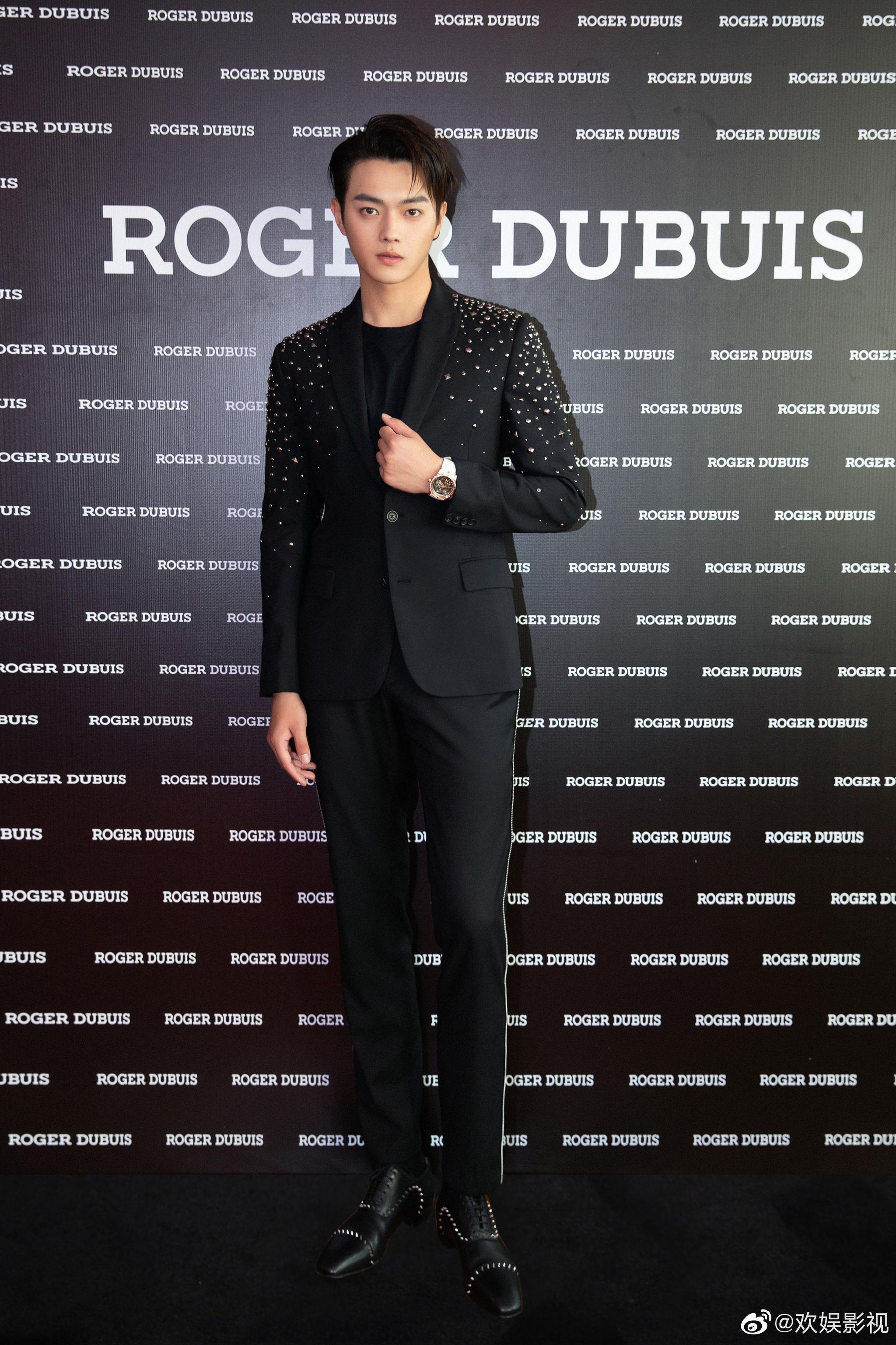欢娱影视演员@许凯soso 出席roger dubuis罗杰杜彼品牌活动