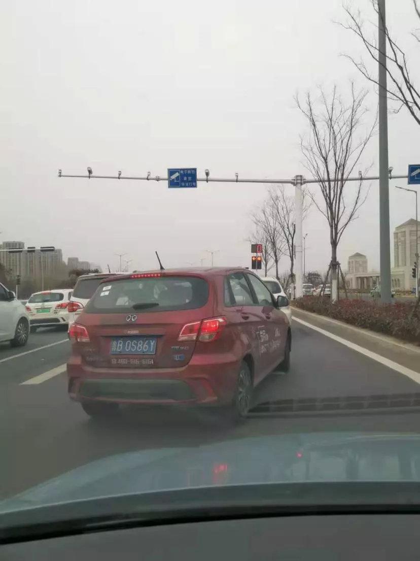 又一家共享汽车跑路了!然后青岛滨海公路惊现幽灵车队......