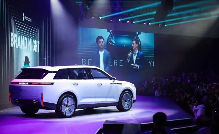 博郡发布纯电动SUV车型iV6/iV7,上海车展即将开启预售