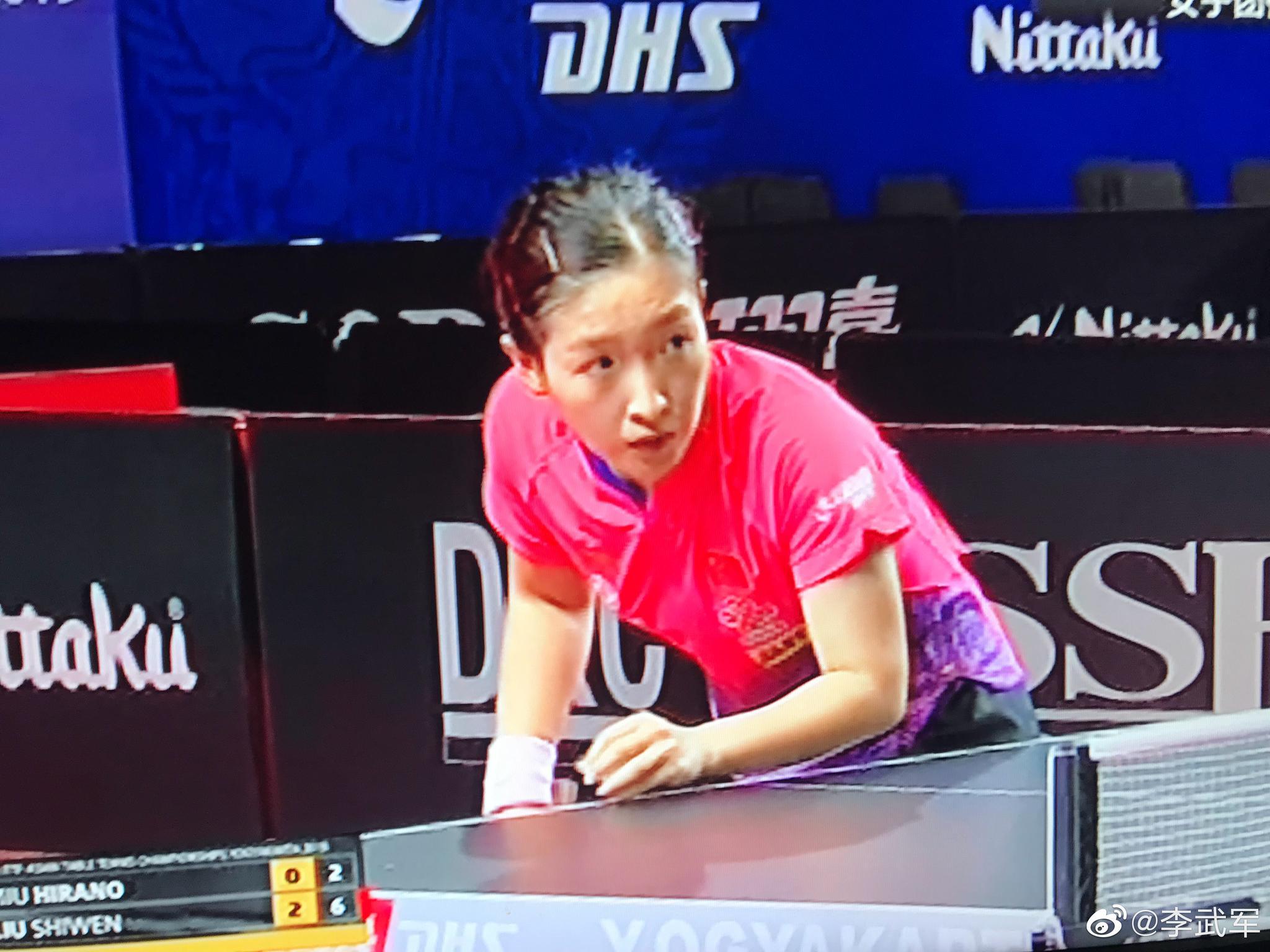 亚锦赛女团决赛,中国队派出了刘诗雯、陈梦、孙颖莎出战