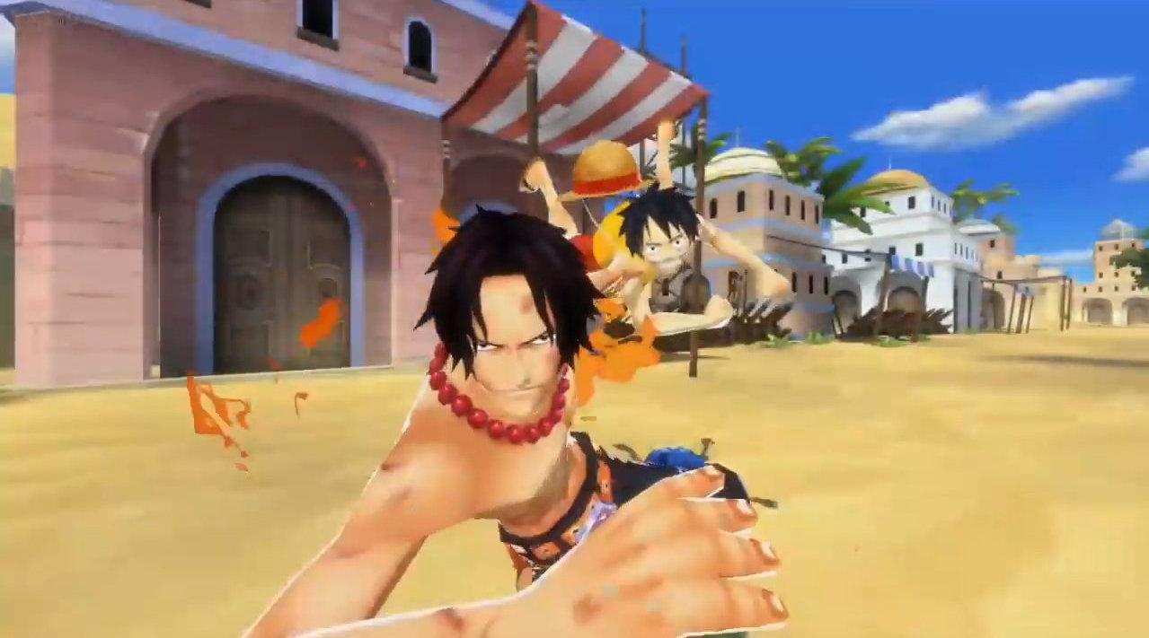 海贼王官方手游Bounty Rush 最新2段演示视频合并版