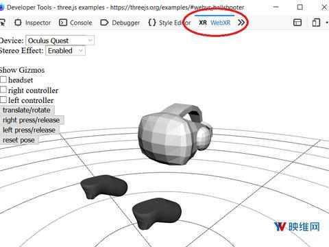 Mozilla为浏览器发布WebXR模拟器扩展程序,帮助创建WebXR内容