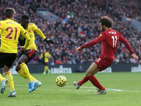 一场2-0踢出英超半程冠军!利物浦连续34场不败 冠军稳了