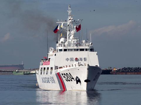 中菲海警将举行应对海上事件联合演习