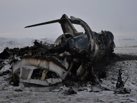 美军军机在阿富汗坠毁三问