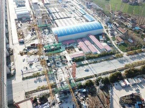 项目建设进行时丨盐通铁路和通张铁路项目双双复工