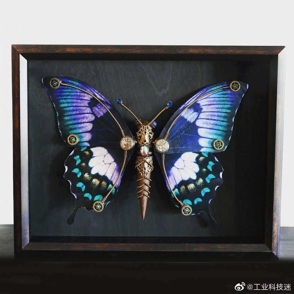 蝴蝶纸杯手工制作大全图片