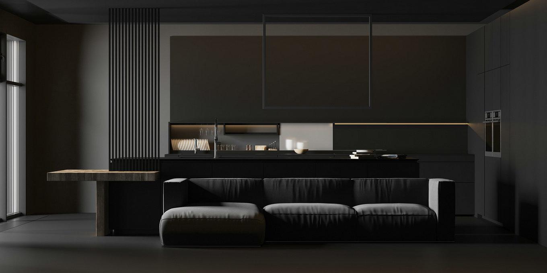 极简黑设计,质朴,狂野,有种最原始的力量感