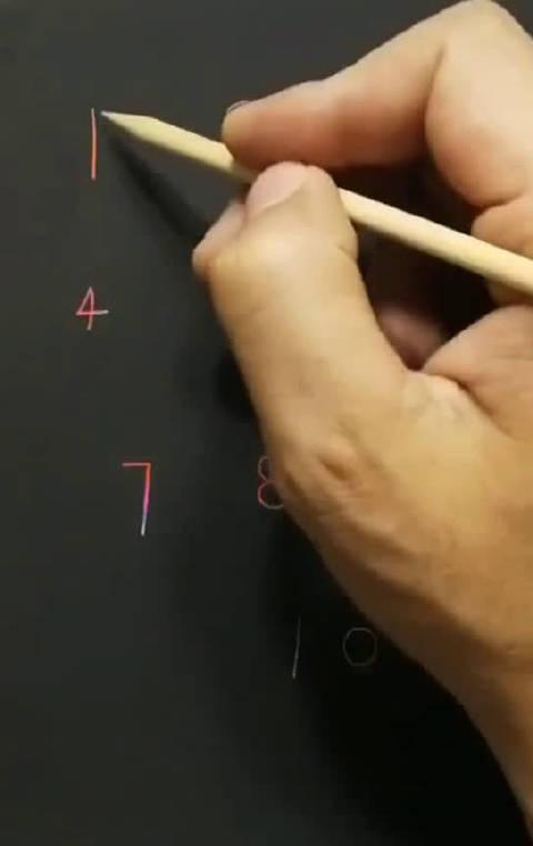 用数字1-10的画画技巧、育儿简笔画建议收藏