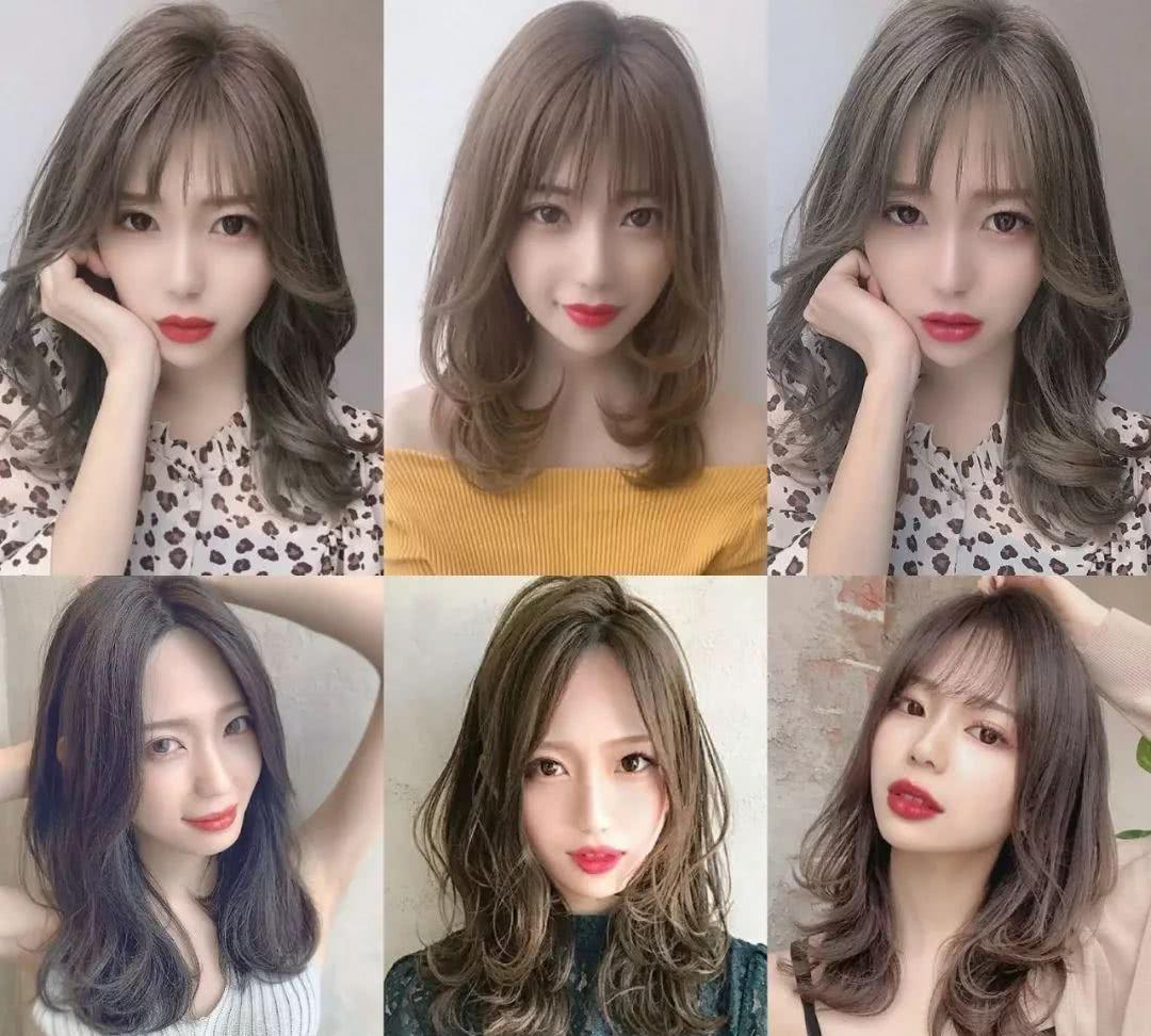 一般的女生喜欢前面留点刘海的头发 2019流行的男发型     最流行