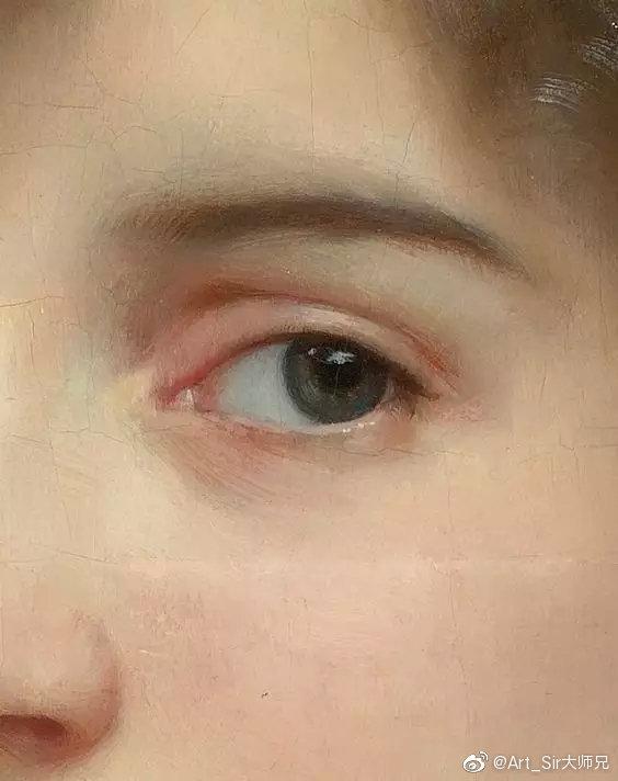 油画家笔下的眼睛