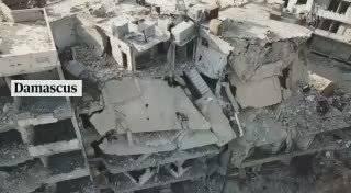 叙利亚的大马士革,代尔祖尔和阿勒颇…看看啥叫残垣断壁…