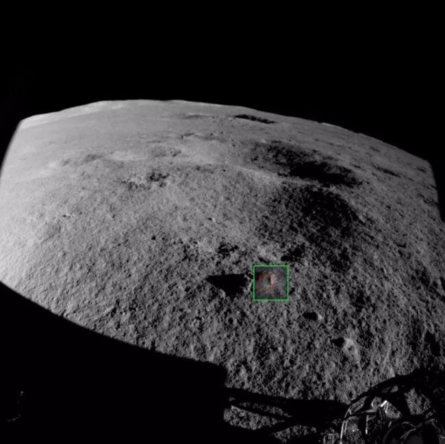 快看!那块岩石怎么了?中国月球车在月球背面发现了奇妙之处