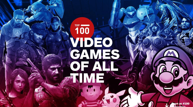 IGN评游戏史上TOP100的游戏(2019版)