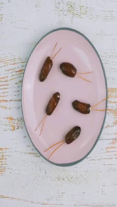 自制黑暗料理,蟑螂小甜品你敢吃吗?