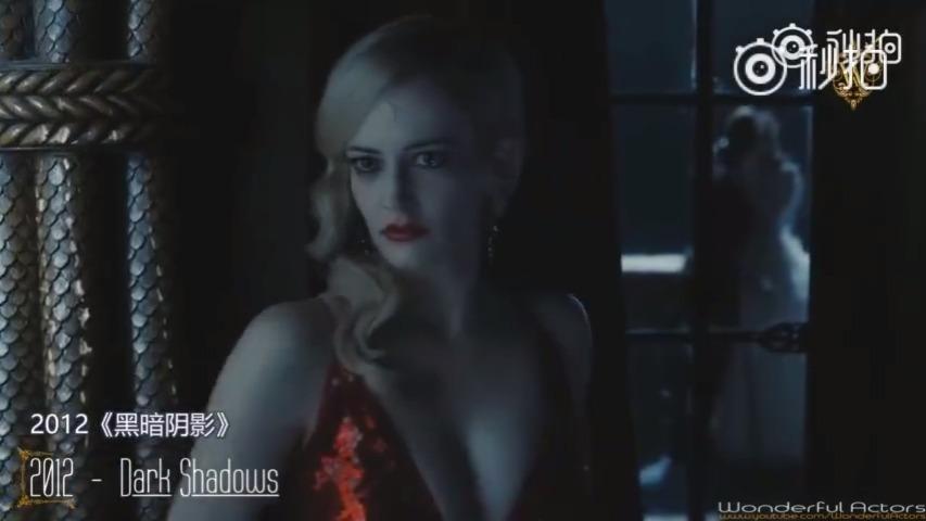 法国尤物伊娃·格林(Eva Green)电影混剪,法国独特气质女神