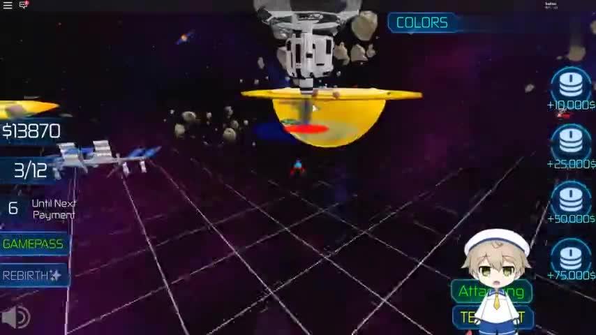 小格解说 Roblox 星际大亨:组建超级飞船舰队!星际争霸大作战?