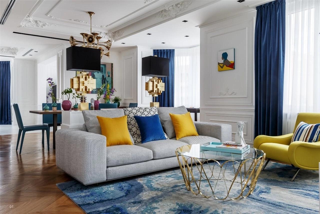 经典现代时尚法式浪漫家居设计风格很多小伙伴希望在家里营造浪漫的