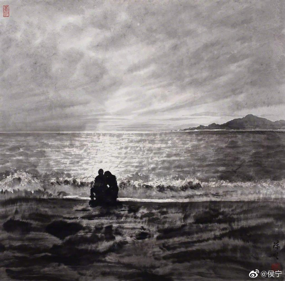 著名书画家,刘海粟弟子,北京玉和书画院院长陈明兄的几幅画作