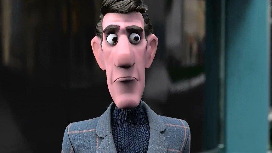 阿联酋创意动画短片《冷面先生》
