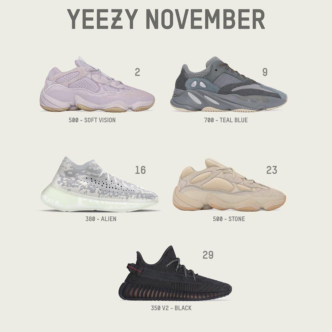 11月即将发售的一些,想冲哪双