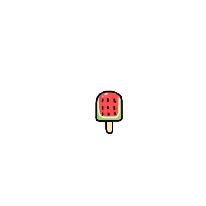 """""""那年上初中,夏天是好漫长的,西瓜是吃不完的"""