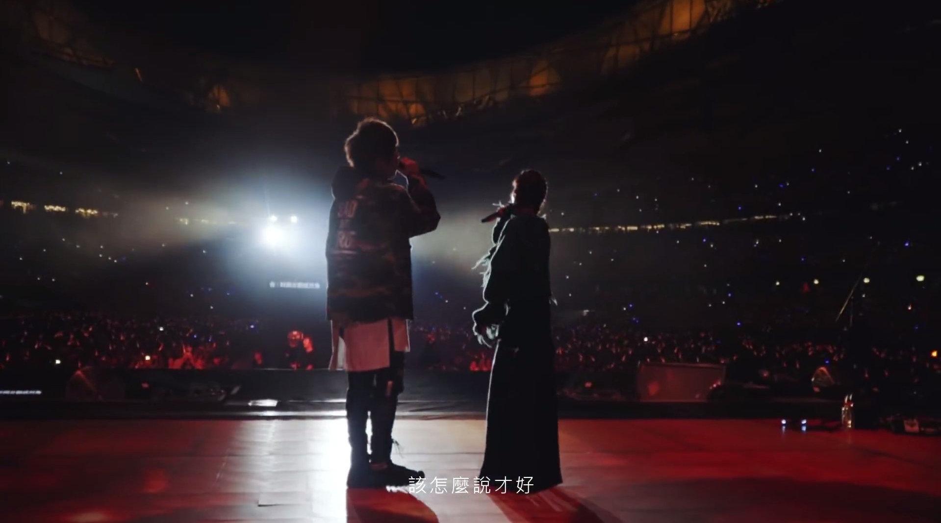 五月天 & 蔡依林《你不是真正的你快乐 + 天空》Live 2018在五月天M