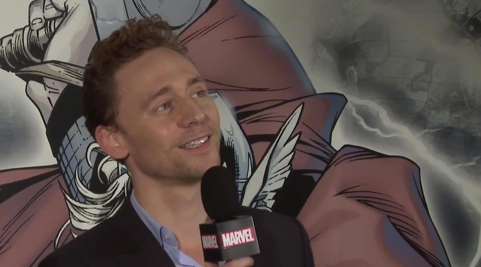 2014年漫威采访里的词汇联想小游戏,绿色与金色让抖森最先想到Loki