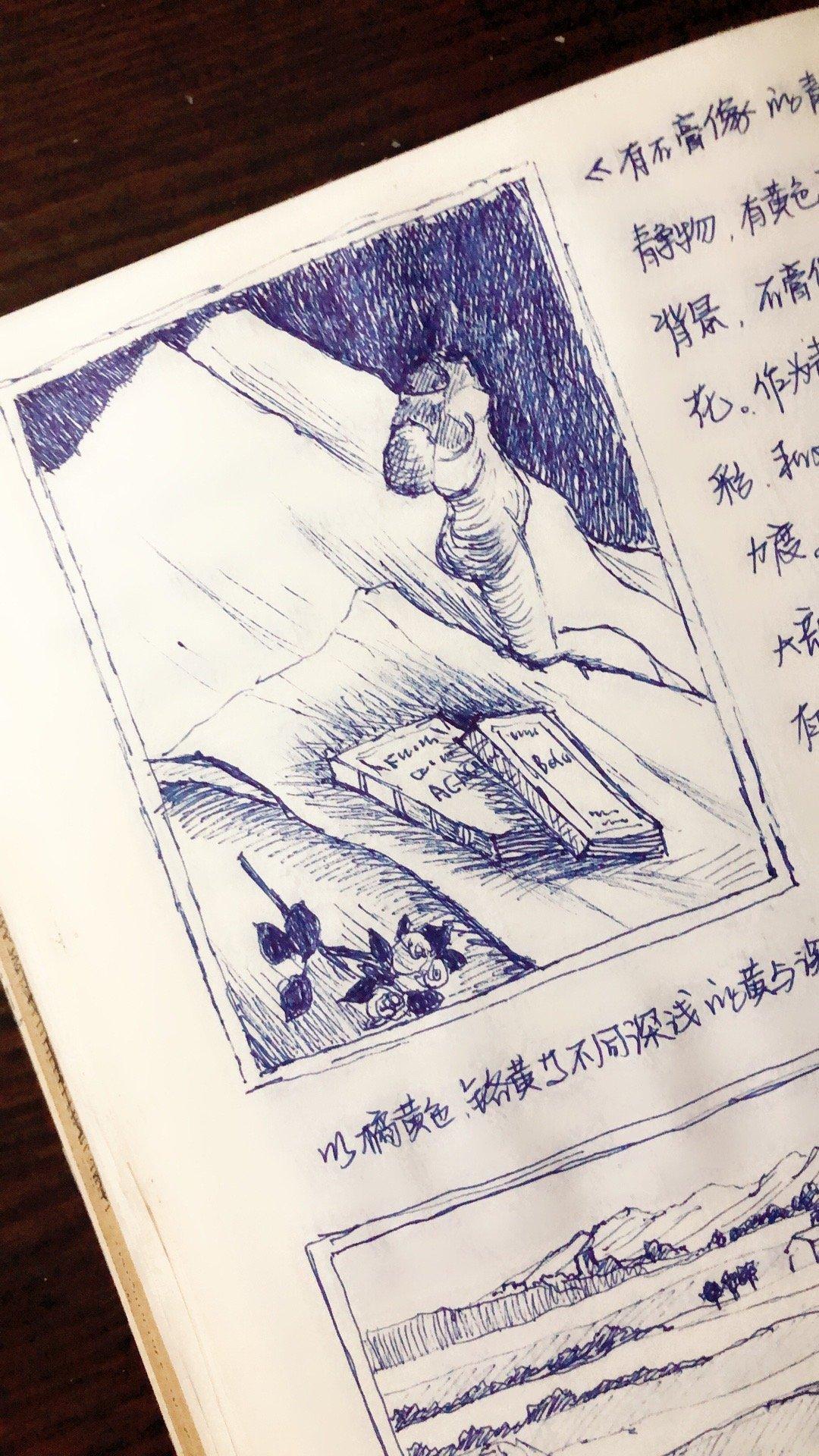 今天继续,把这本书翻完。关于梵高的一本拼凑的书