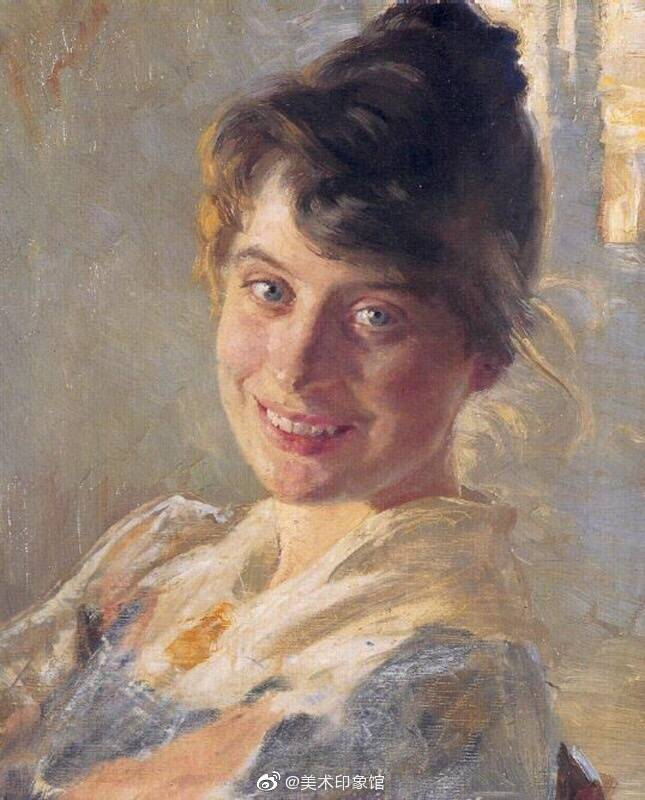 Peder Severin Kroyer 丹麦印象派画家(1851-1909)