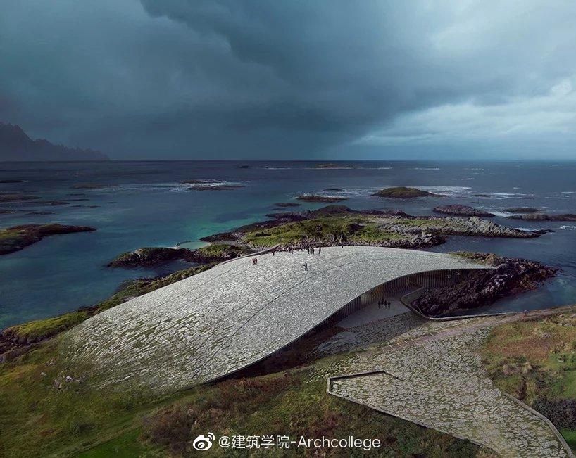 "Dorte Mandrup将在挪威打造北极圈内旅游景点""鲸鱼""落于自然的奇"