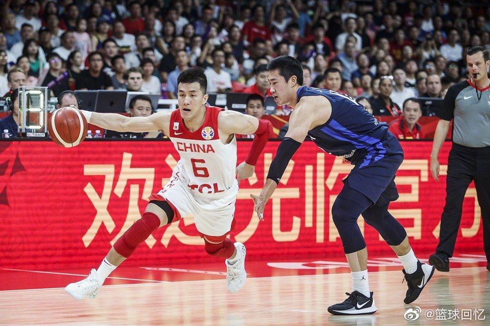 中国男篮77-73战胜韩国男篮