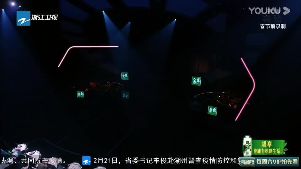 低音炮王晰和音乐剧演员娄艺潇,《天赐的声音》一曲《花样年华》