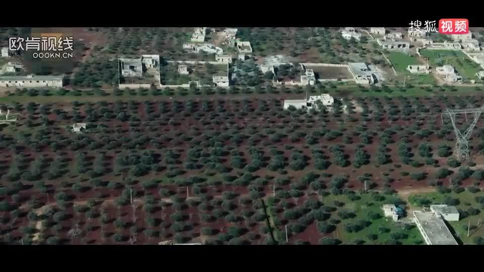 一触即溃!航拍叙利亚军队在战略重镇萨拉奇布的大撤退