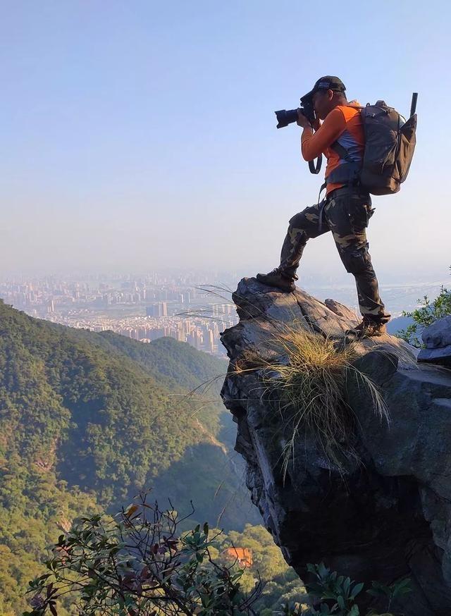 航拍花尖顶,这是清远近郊最美徒步登山穿越线路