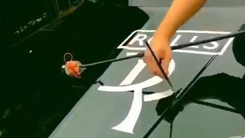 都是手艺人,给你画个劳斯莱斯标志!